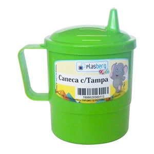 Caneca Infantil Com Tampa